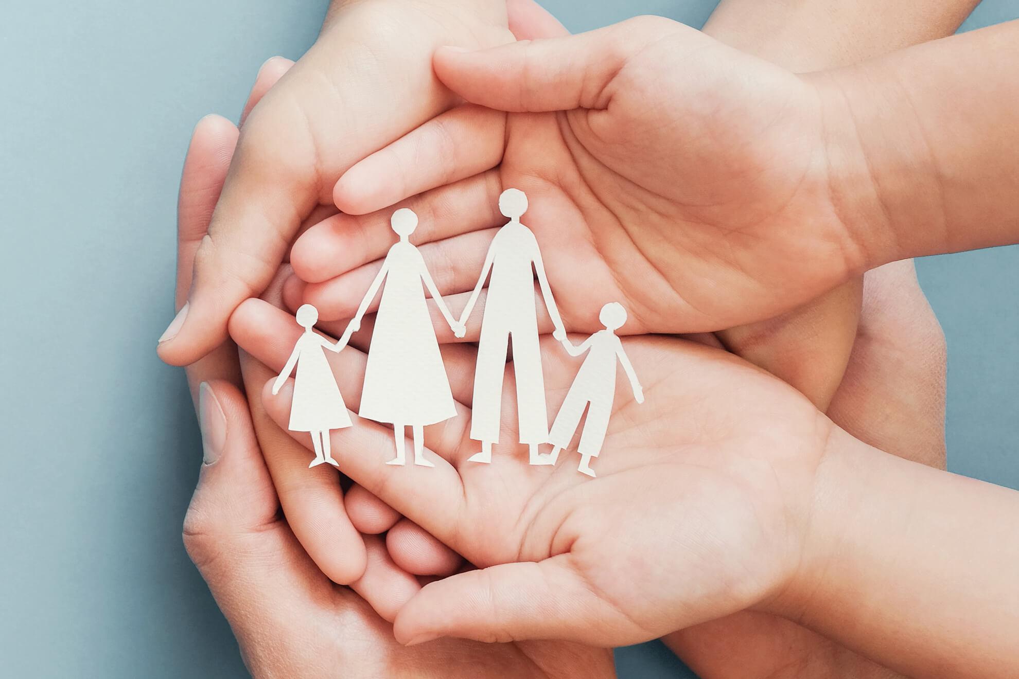 Breakaway Community Services Hand Family