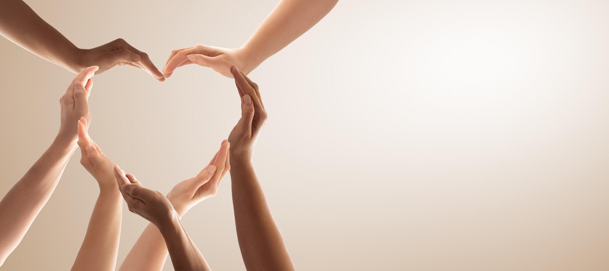 Breakaway Community Services People Hand Heart Team
