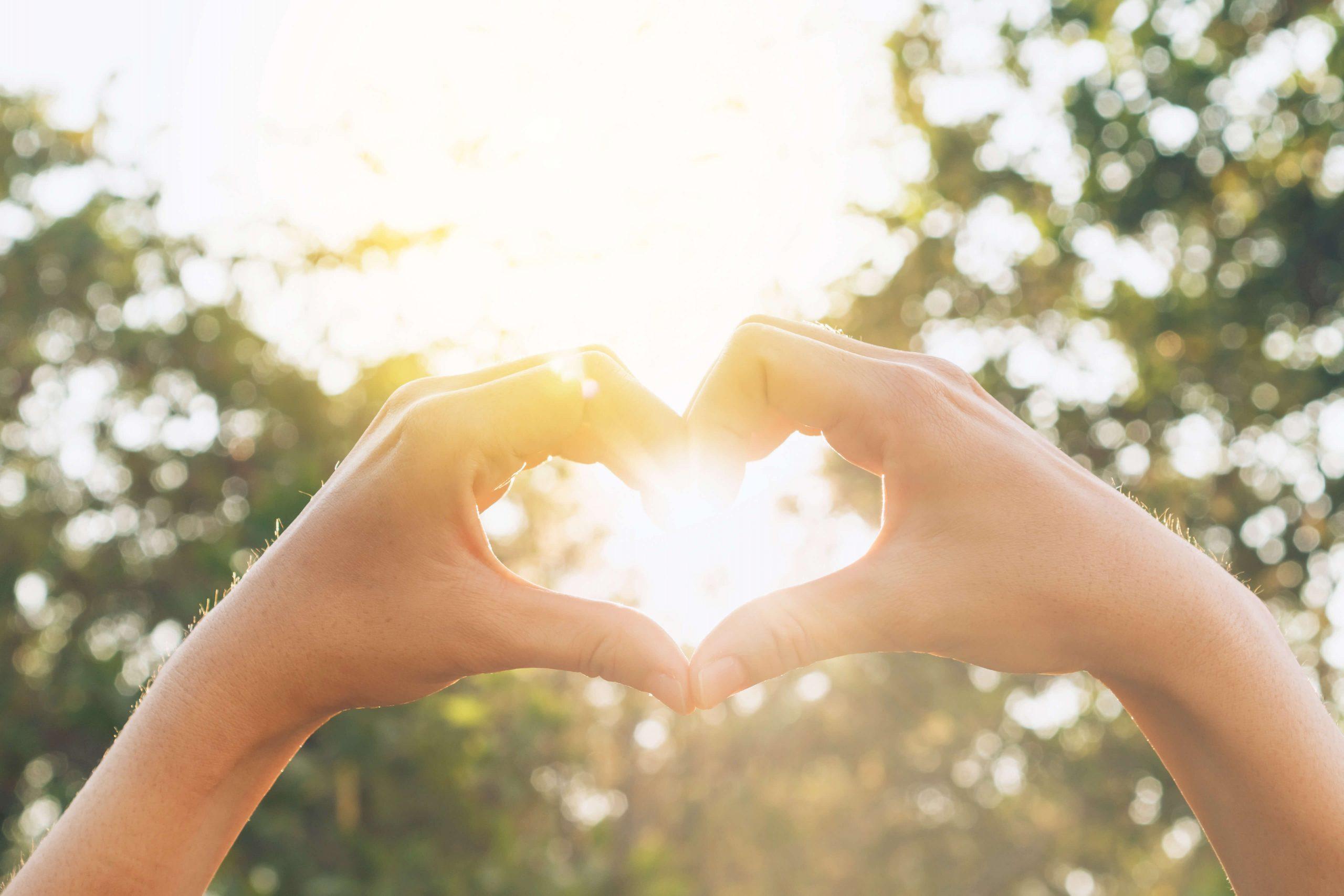 Breakaway Community Services People Hand Heart